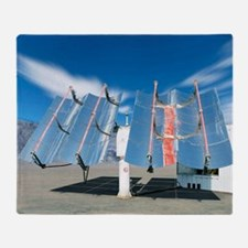 Solar parabolic mirrors, Cologne, Ge Throw Blanket