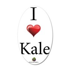 I Heart Kale Wall Decal