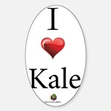 I Heart Kale Decal