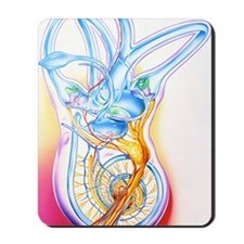 Inner ear Mousepad