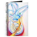 Ear Journals & Spiral Notebooks