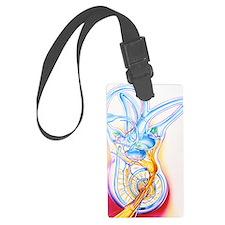 Inner ear Luggage Tag