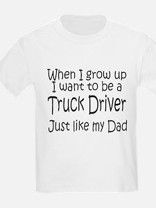 WIGU Trucker Dad Kids T-Shirt