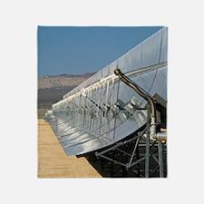 Solar parabolic mirror, California Throw Blanket
