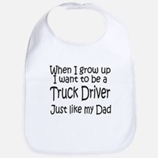 WIGU Trucker Dad Bib