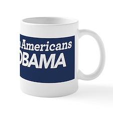 African Americans For Obama Mug
