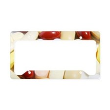Assortment of pills License Plate Holder