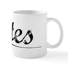 Cates, Vintage Mug