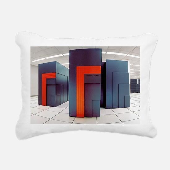 NERSC supercomputers Rectangular Canvas Pillow