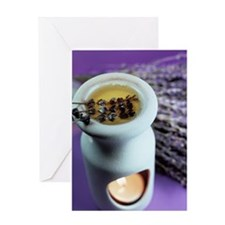 Aromatherapy Greeting Card