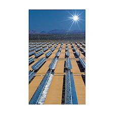 Solar power plant, California Decal