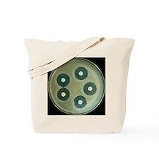Anthrax antibiotics research Tote Bag