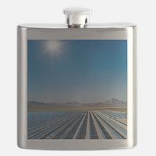 Solar power plant, Nevada Flask
