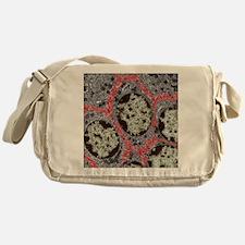 Liver cells, TEM Messenger Bag