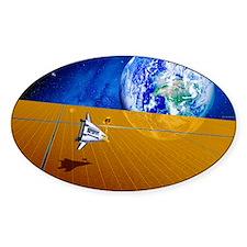 Solar power satellite Decal