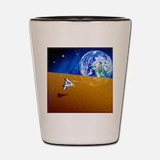 Solar power satellite Shot Glass