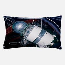 Soviet Vostok spacecraft Pillow Case