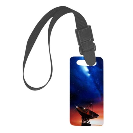 Spacecraft tracking antenna Small Luggage Tag
