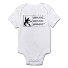 We Dance Logo Infant Bodysuit