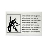 Ballroom dancer Magnets