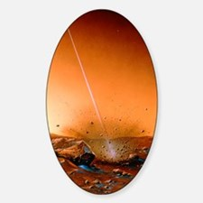 Landing of Martian subsurface probe Decal