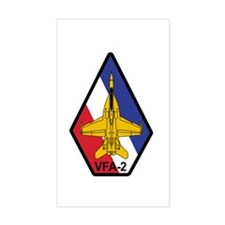VFA-2 Bounty Hunters Rectangle Decal