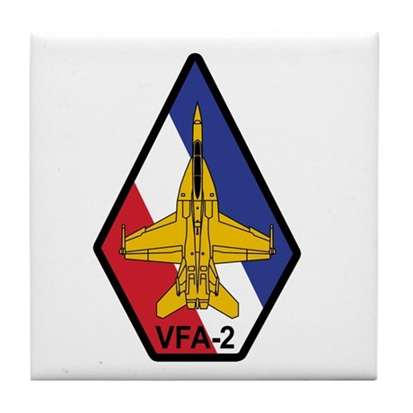 VFA-2 Bounty Hunters Tile Coaster