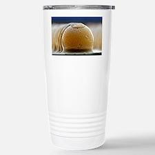 Solder bumps, SEM Stainless Steel Travel Mug