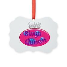 Bingo Queen Bubble Ornament