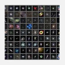 Messier objects, full set Tile Coaster