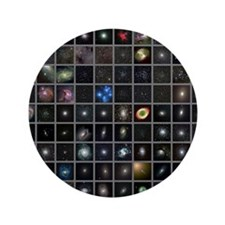 """Messier objects, full set 3.5"""" Button"""