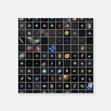 "Messier objects, full set Square Sticker 3"" x 3"""