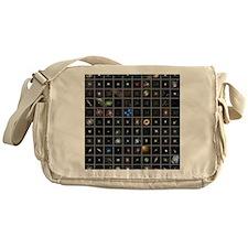 Messier objects, full set Messenger Bag