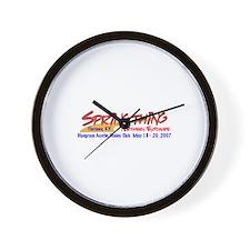 Springthing 2007 Wall Clock