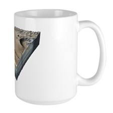 Moon surface features, artwork Mug