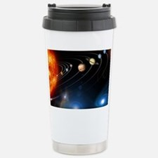 Solar system planets Stainless Steel Travel Mug
