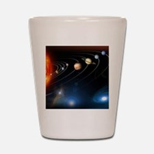 Solar system planets Shot Glass