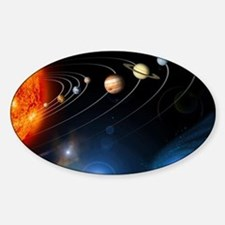 Solar system planets Decal