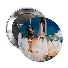 "Space Shuttle launch 2.25"" Button"