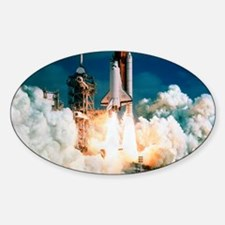 Space Shuttle launch Decal