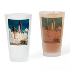 Space Shuttle launch Drinking Glass