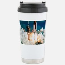 Space Shuttle launch Stainless Steel Travel Mug