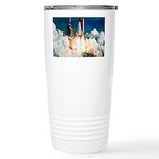Space Shuttle launch Travel Coffee Mug