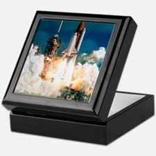 Space Shuttle launch Keepsake Box