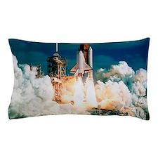 Space Shuttle launch Pillow Case