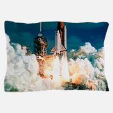 Space Shuttle launch Pillow Case
