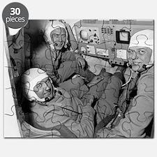 Soyuz 11 rocket crew Puzzle