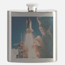 Space Shuttle launch Flask