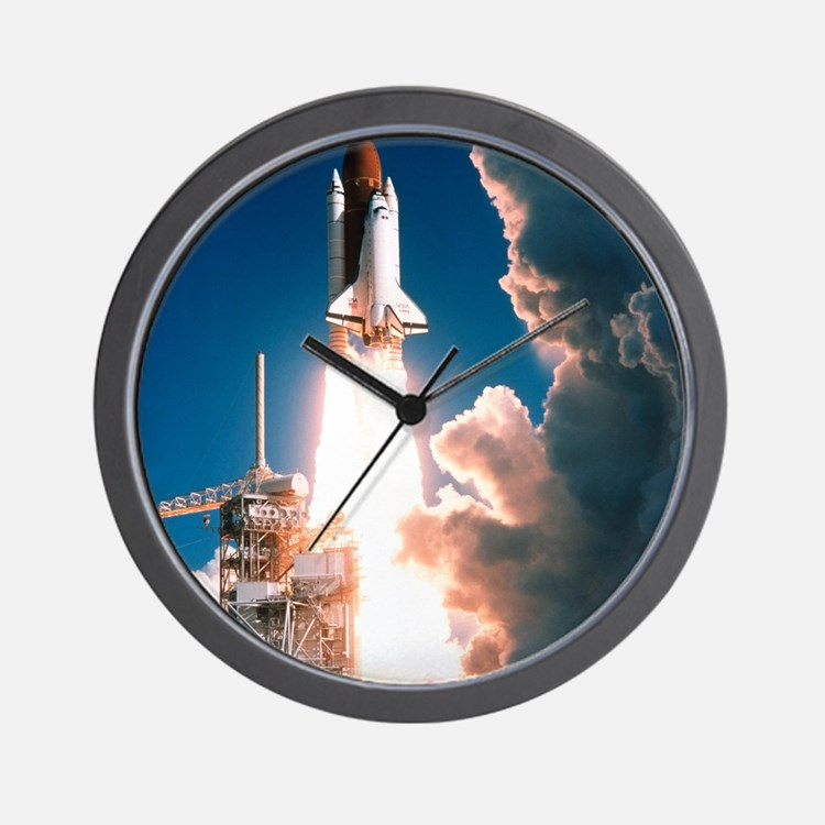 Space Shuttle launch Wall Clock