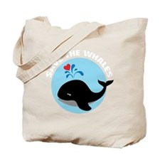 WHALE11 Tote Bag